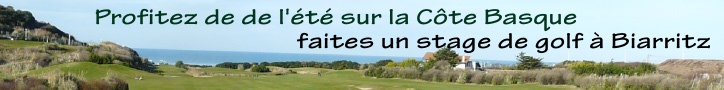 stages de golf sur la côte basque