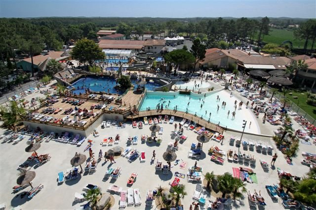 Le VIEUX PORT CAMPING In The LANDES In South West France - Camping vieux port messanges