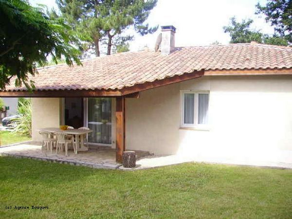 holiday rental villa for 8 in Soustons Plage(40)