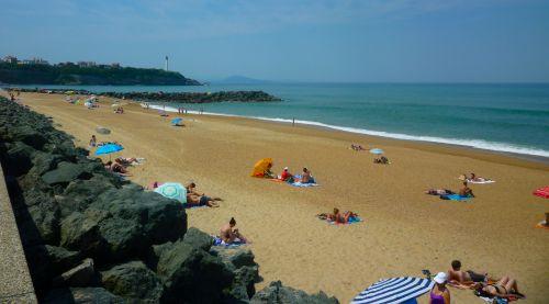 Les plages d 39 anglet sur la cte basque for Biarritz chambre d amour