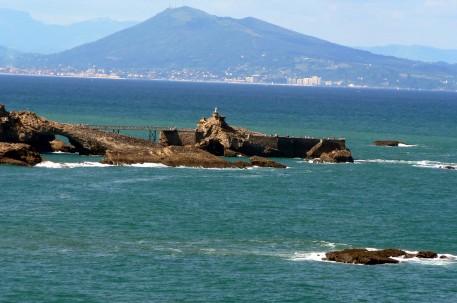 rocher de la vierge Biarritz/© CDT64/S.Claudo