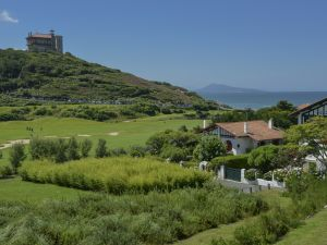 golf et chateau d'ilbarritz/© CDTA