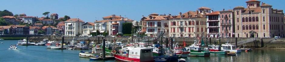 Port de plaisance port de pche ciboure et st jean de luz cte basque - Euskal linge st jean de luz ...