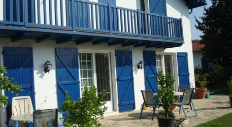 Chambres d 39 h tes hendaye for Chambre hote hendaye